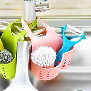 DIDIHOU Sponge Bathroom Kitchen Organizer Holder
