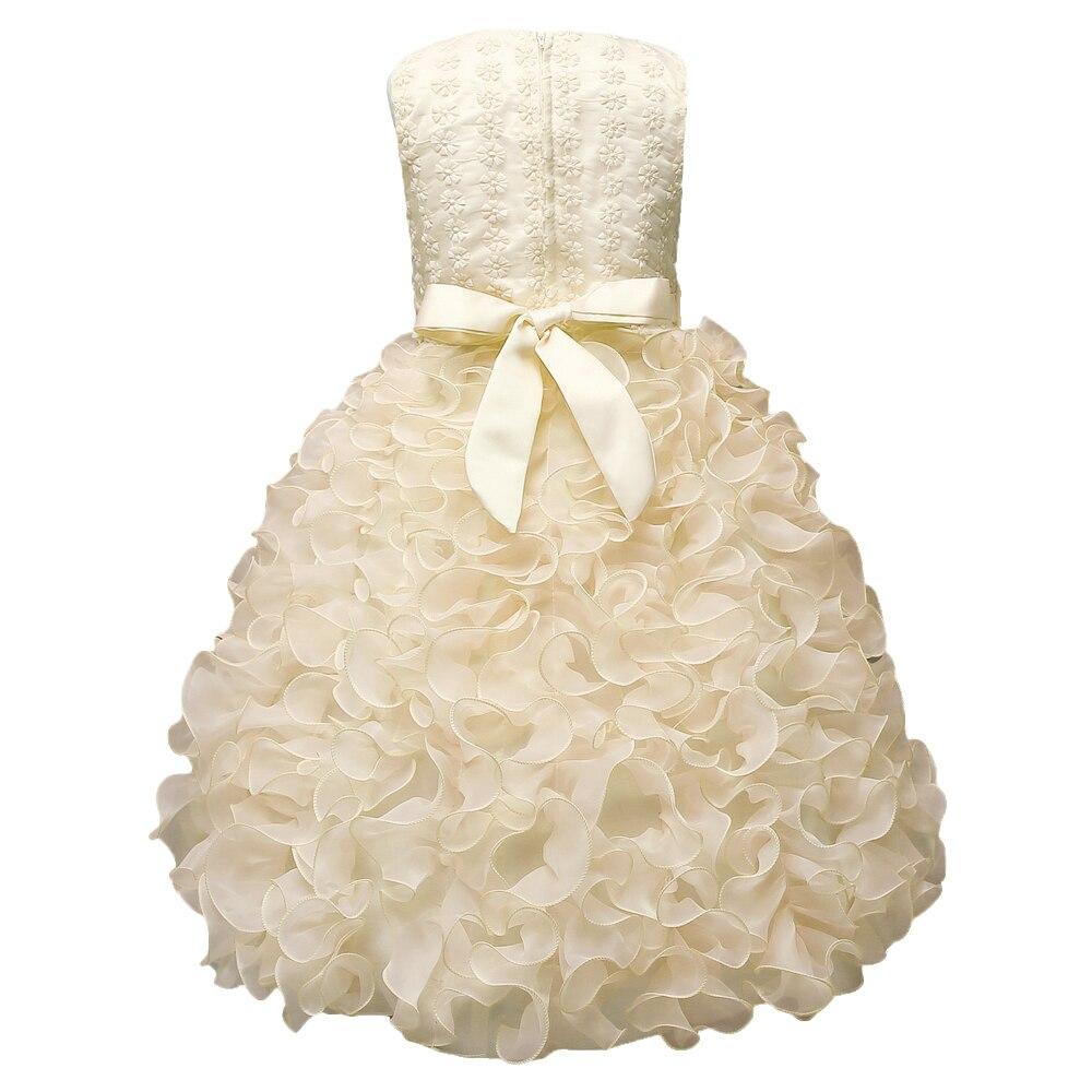 Luxus Baby Mädchen Kleid Kinder Hochzeit Geburtstag Kleider Mädchen ...