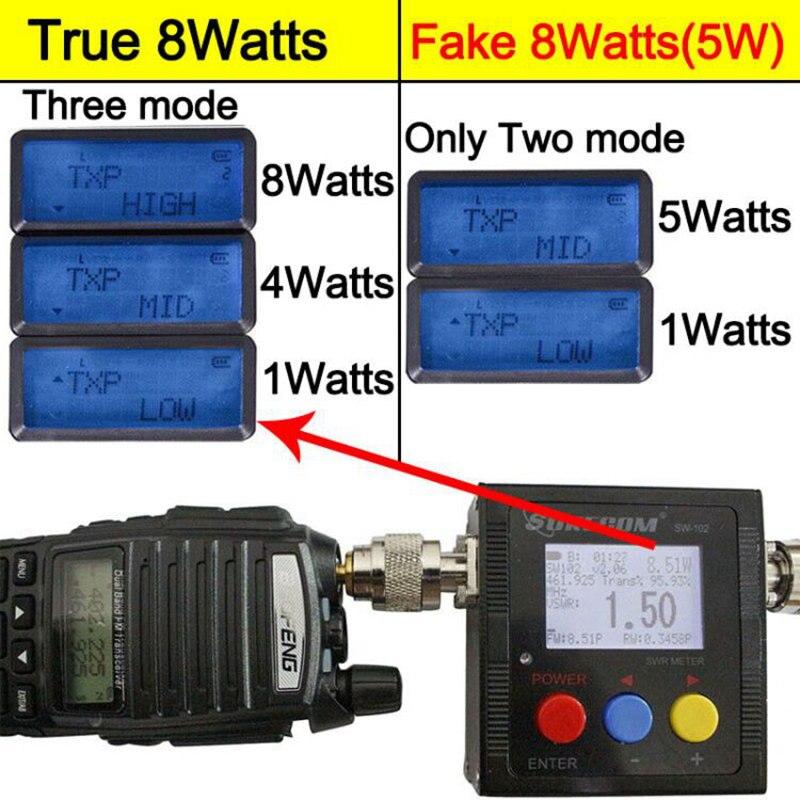Image 2 - 2020 Baofeng UV 82 Plus  8W 10KM Long Range Powerful Walkie  Talkie Portable CB vhf/uhf ptt two way Radio Amador 8 watts of  UV82baofeng uv-82vhf amportable cb