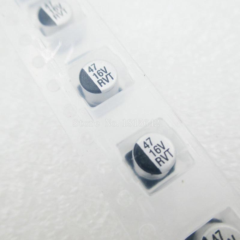 20PCS/LOT 47UF 16V 5mm*5.4mm SMD Electrolytic Capacitor 16v 47uf