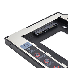 CHIPAL SATA to SATA 2nd HDD Caddy 9.5mm for 9mm 9.5mm SSD Case Hard Disk Drive Enclosure Bay for Notebook ODD Optibay DVD-ROM