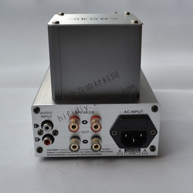 DIY M8 (6J1 * 2) 10W * 2 Tube Amplifier USB/MP3/SD Remote Control Desktop Amplifier