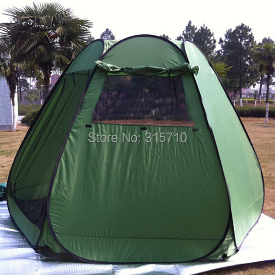 Large outdoor party tent/Garden family tent/family c&ing pop up tent/throw tent quick open in army green color-in Tents from Sports u0026 Entertainment on ... & Large outdoor party tent/Garden family tent/family camping pop up ...