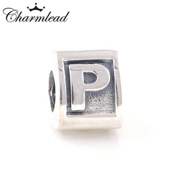 p pandora charm