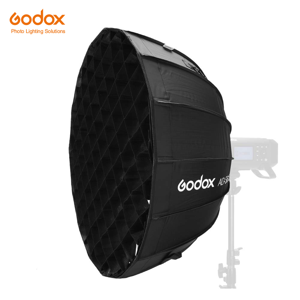 Godox Softbox 50 x 70cm Portable Softbox with Grid for Studio Photography 19.5 x 27.5
