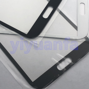 Image 5 - Completa Della Cassa Dellalloggiamento di ricambio pezzi di Ricambio per Samsung Galaxy Note 2 II N7100 Medio Cornice Bezel Copertura Posteriore + Anteriore di vetro