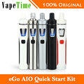 100% Оригинал Joyetech эго Жидкостью Vape Комплект 1500 мАч AIO Батареи Эго Quick Starter Kit 1500 мАч Батареи Все-в-один e электронная сигарета
