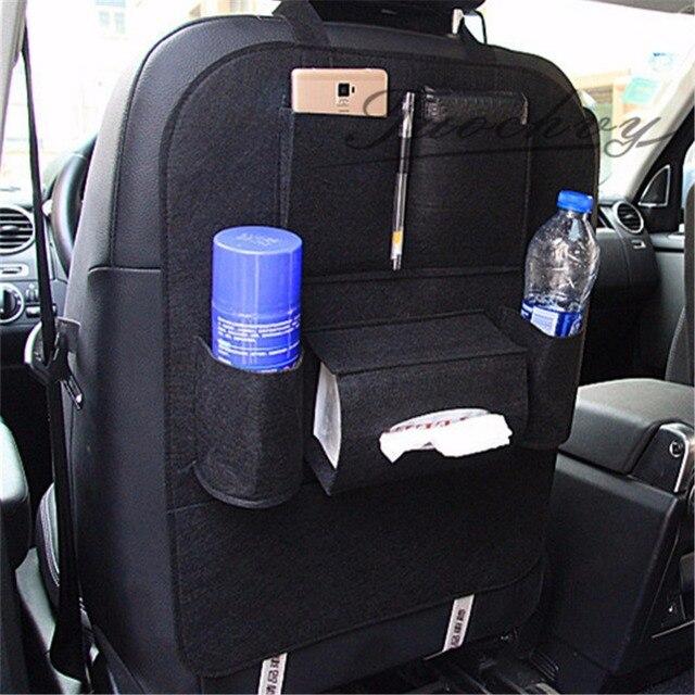 2XUniversal Car Organizer Multi Pockets Back Seat Storage Bag Phone