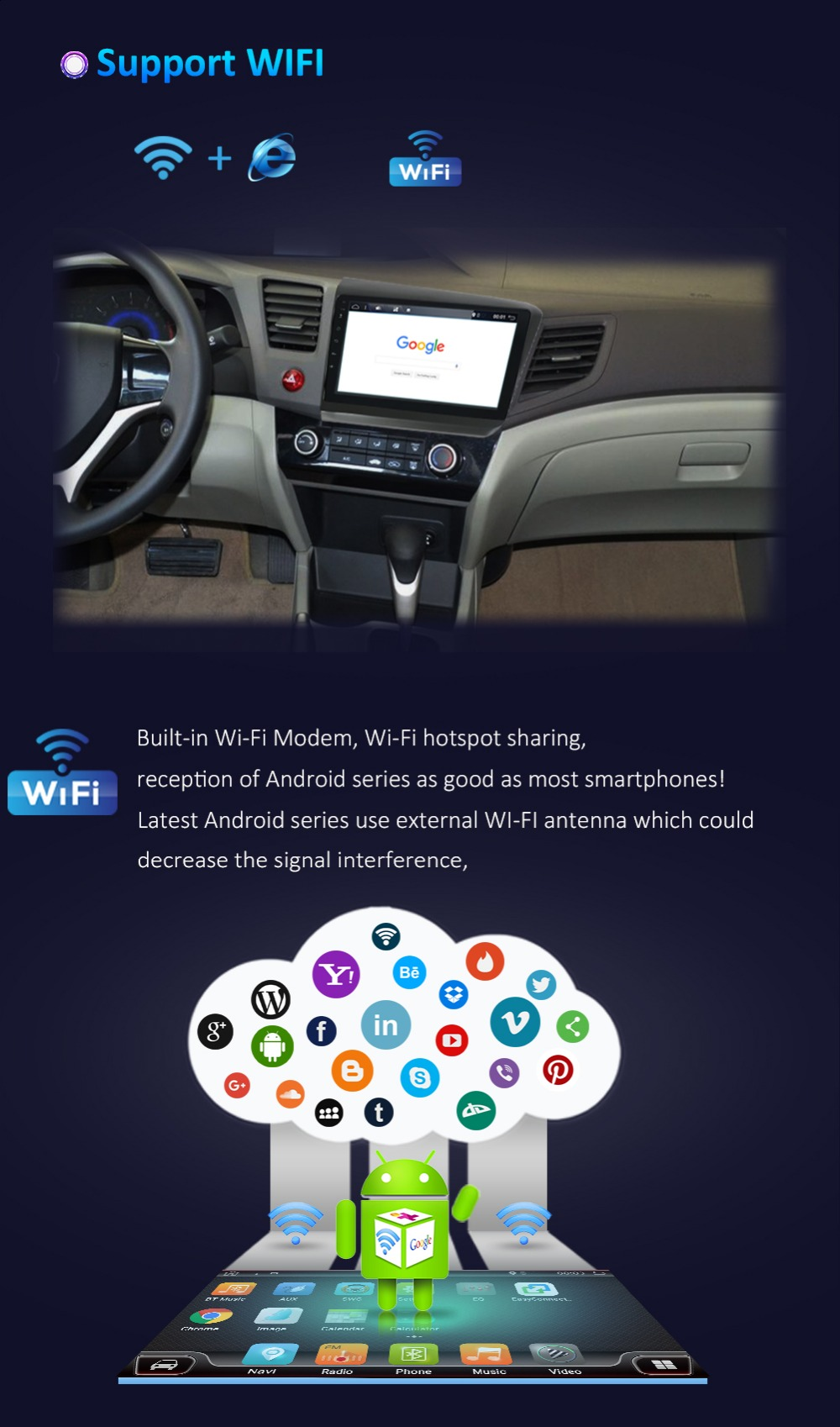 gps Radio android canbus 10