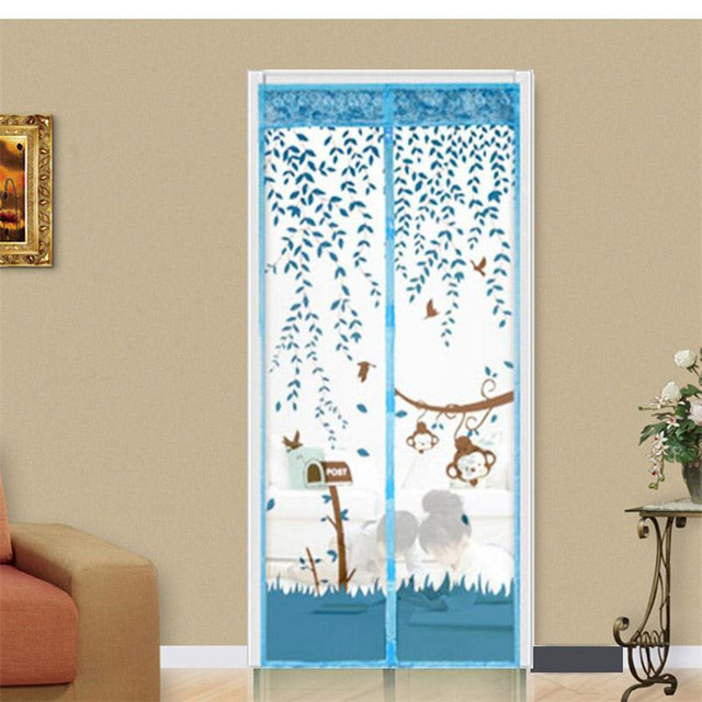 Charmant New Qualified Summer Prevent Anti Mosquito Net Curtain Magnetic Mesh Screen  Door Magnet Kitchen Window Organza