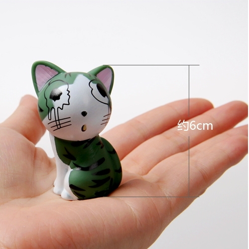 Chi's Sweet Home toy cat sets 10pcs
