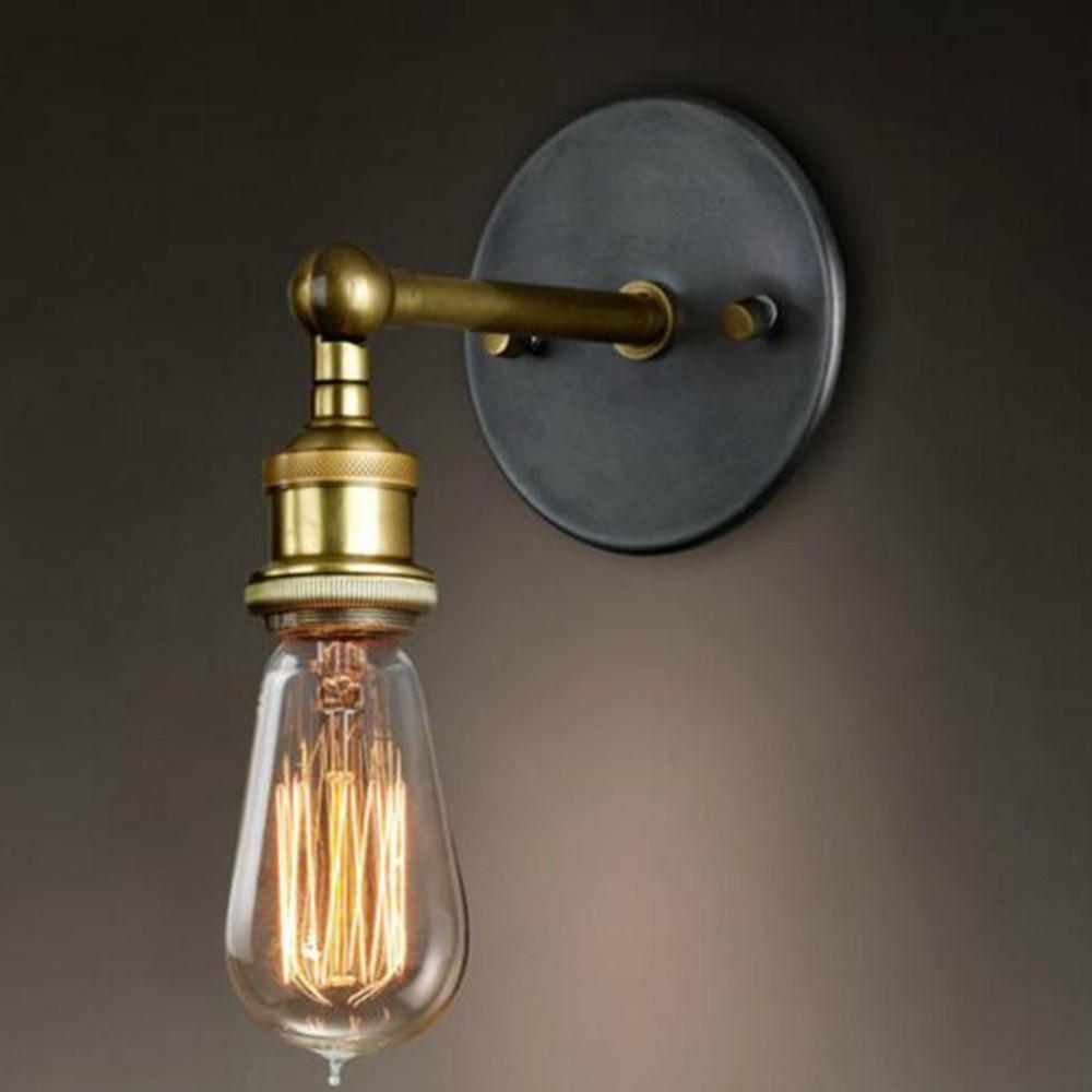1 pcs industrial retro wall lamp for bedroom creative antique aisle corridor lamp industrial lighting luminaria cheap industrial lighting