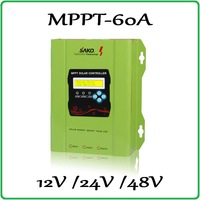 60A 100% Solar Charge Controller 12V 24V 48V Auto work PV panel Battery Charge Regulator 40A 50A 60A real MPPT solar controller