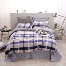 Adult Kids Child Soft Cotton Bed Linen Single Full Double Queen King Size Duvet Cover Quilt Comforter Bedspreads 24(China)