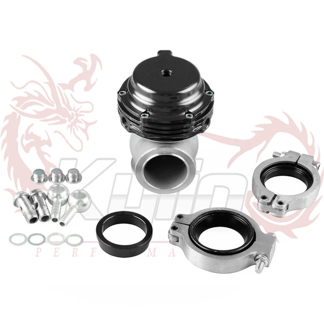 KYLIN STORE --- Racing 38mm External Wastegate WITH FLANGES 14 PSI  without any logo