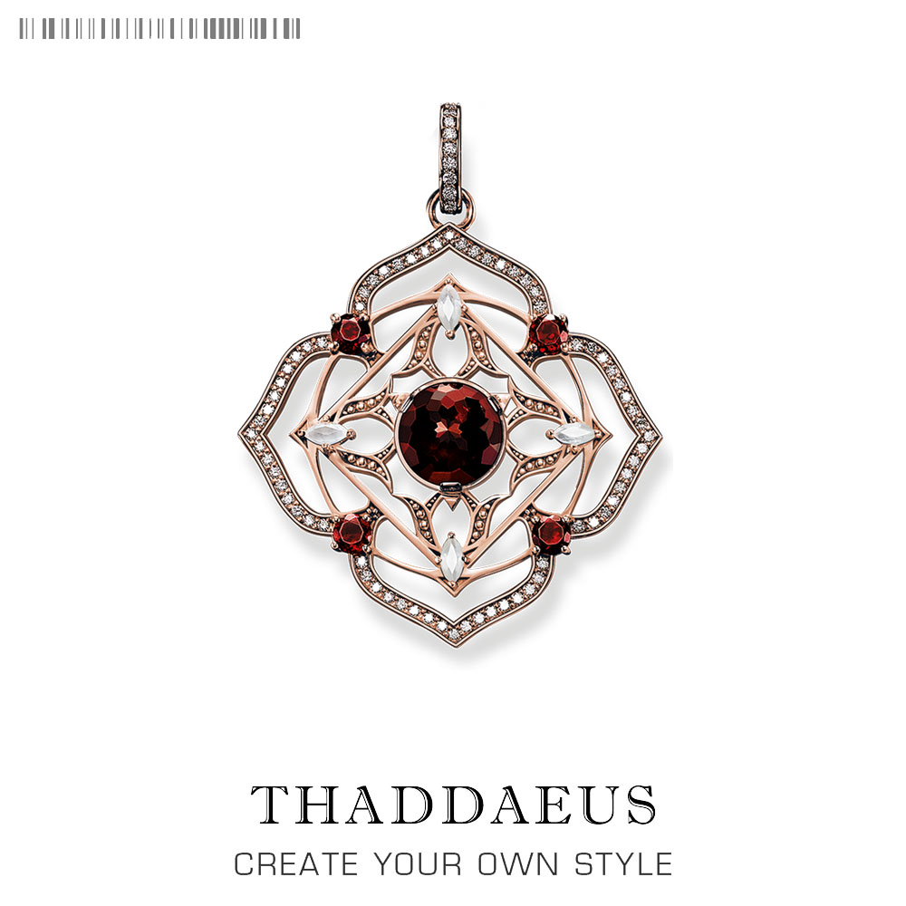 Pendant ROOT CHAKRA,2019 Brand New Vintage Fashion 925 Sterling Silver Jewelry Thomas Bijoux Accessories Gift For Ts Woman Girls