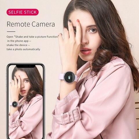 B36 Women Smart Watch Top Heart Rate Female Period Reminder Smartwatch Ladies Wrist Sport Smartwatch For IPhone Samsung Huawei Multan