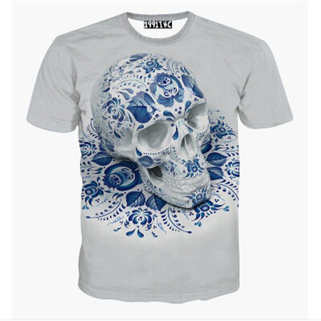 BAODLNONG 21 Patterns S-3XL Funny 3D T-Shirts Men Cloud Clown Print Tshirt Fashion O Neck Tee Top Homme Camisetas Hombre