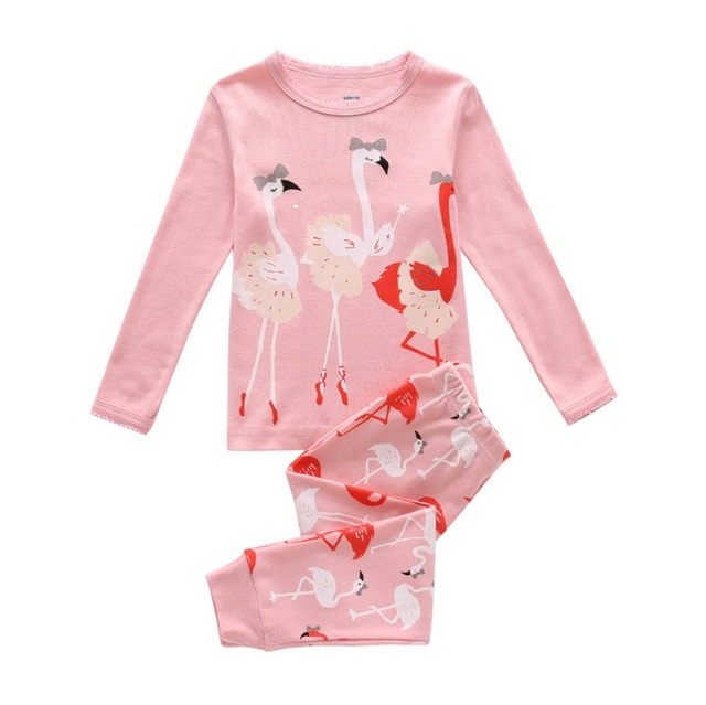 f0f31a91f Girl Clothing Set Children Pajamas Baby Infant Newborn Nightwear ...