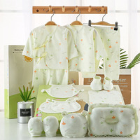 MrY Spring Autumn Baby Clothing Set Gift 16 Pieces Infant Underwear Suits 100% Cotton Fashion Newborn Baby Gift Set