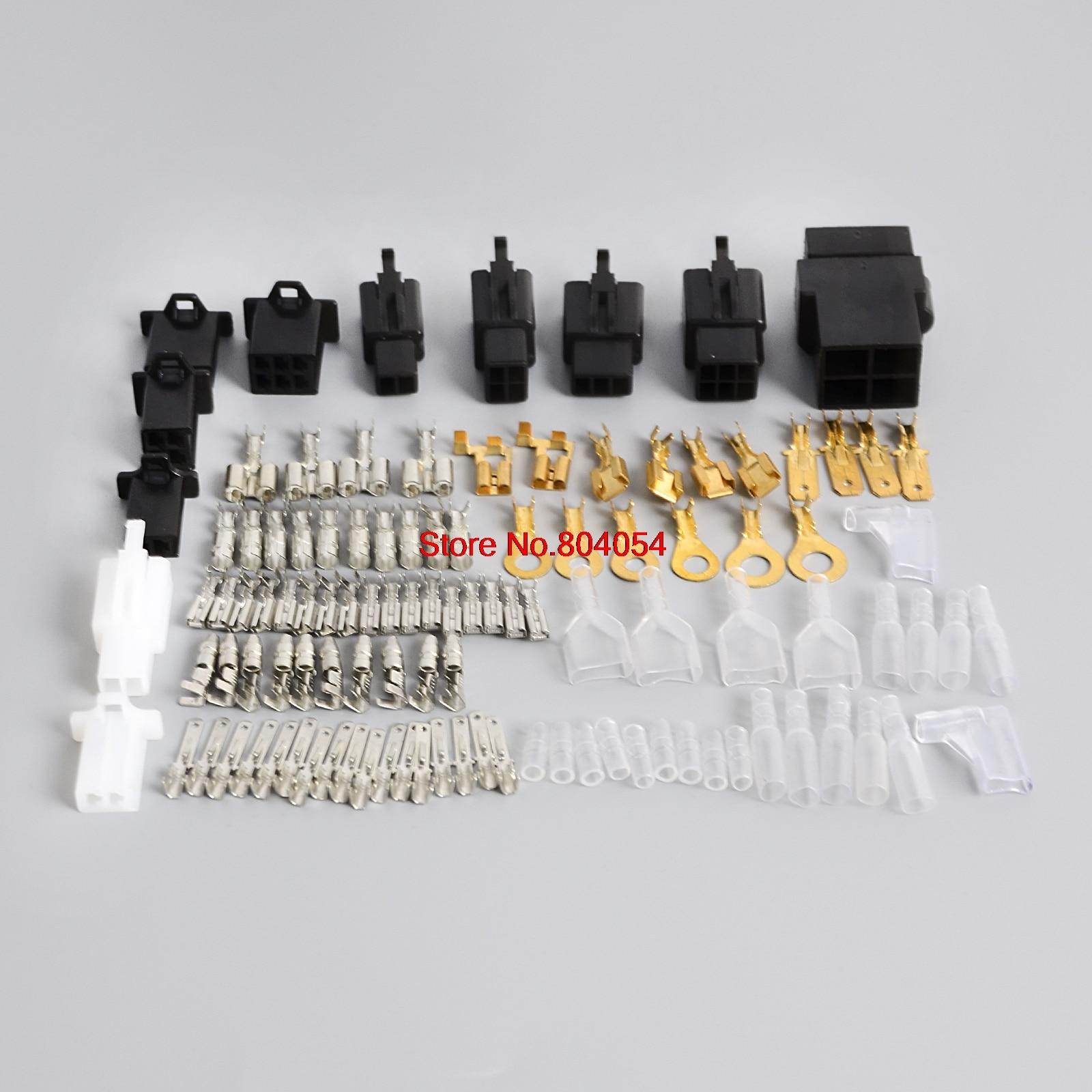 for honda yamaha kawasaki suzuki ducati motorcycle electrical wiring harness loom repair kit plugs bullets connectors in fuses from automobiles  [ 1600 x 1600 Pixel ]