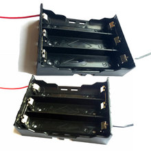 10pcs Plastic 11 1V 18650 Battery Box Leads Wire For 3pcs 18650 Li ion Batterias Organizer