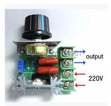 AC220V 2000W SCR Voltage Regulator Dimming Dimmers Speed Controller Thermostat