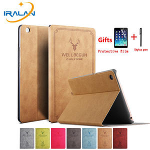 Vintage Deer Pu Leather Flip Stand Case For Huawei Mediapad M3 Lite 8.0 CPN-W09 CPN-L09