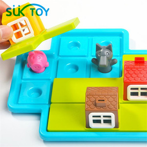 Image 5 - Three Little Piggies   Deluxe Cognitive Skill Building Puzzle Logic Game featuring 48 Playful Challenges for Ages 3+