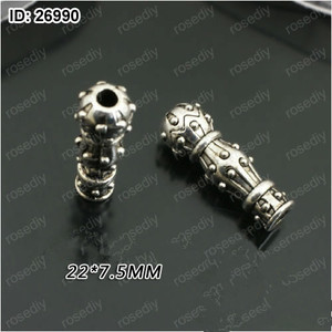 Image 2 - 2018 New Arrival Muslim Rosary Imam 20pcs/lot Alloy Materials Imam for Prayer Beads Making DIY Connector Free Shipping