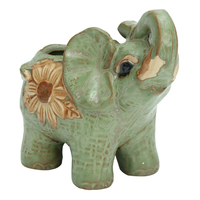 Neueste Tier Statuen Keramik Elefanten Blumentöpfe Pflanzkübel ...