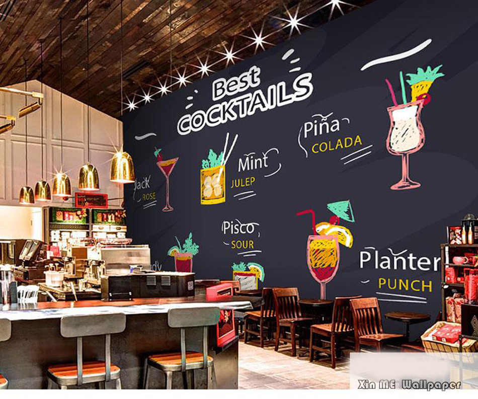 Buy best welcome tea time 3d wallpaper for Mural coffee shop
