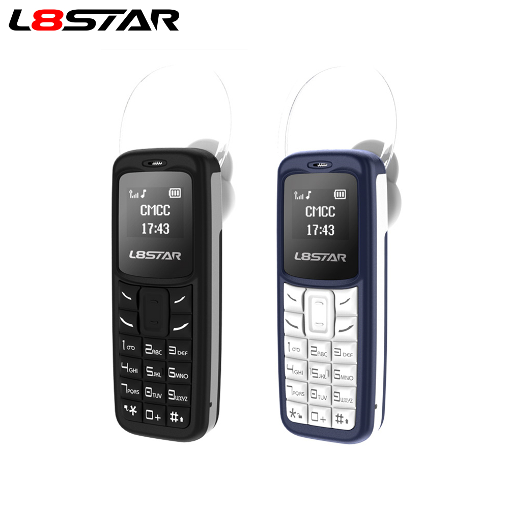 L8STAR BM30 Mini Telefon SIM + TF Karte Entsperrt Handy GSM 2G/3G/4G Wireless kopfhörer Bluetooth Dialer Headset Mobile mit Mp3
