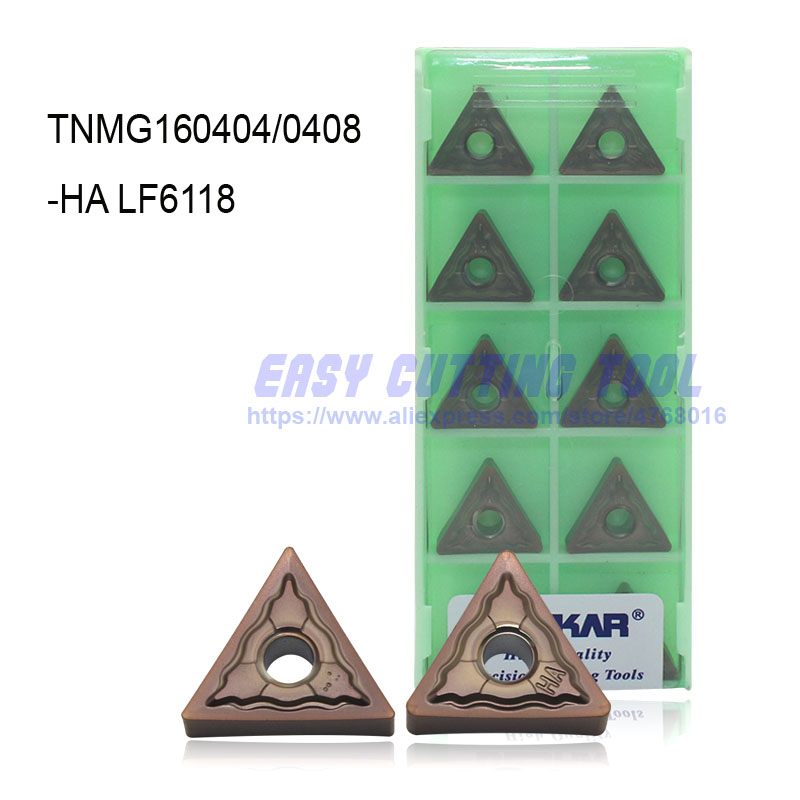 10PCS NEW DESKAR TNMG160408-HQ LF9011 CNC Carbide  Inserts FOR Steel parts