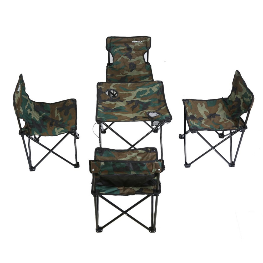 high end folding chairs movie director chair outdoor furniture table desk and camouflage combination set for tour picnic camping ship from usa