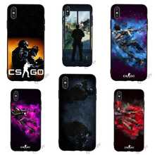Print CS Counter Strike Global csgo Phone Cover for iPhone 6 Case 7 XR X 8 Plus 5 6S 5S SE Xs Max Cases Skin