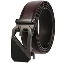 Cowhide Leather Strap Designer Quality Male Business Belts Men Luxury Jeans Waistband Men Belts Automatic Buckle Belt belts men 140cm 150cm 160cm 2017new fashion business casual male belt strong men best popular selling goods cool choice hot sale