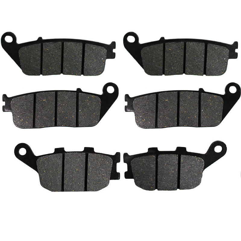 Motorcycle Front and Rear Brake Pads for <font><b>HONDA</b></font> <font><b>CBF</b></font> <font><b>600</b></font> SA CBF600 SA CBF600SA ABS 2004 2005 <font><b>2006</b></font> 2007 2008 image