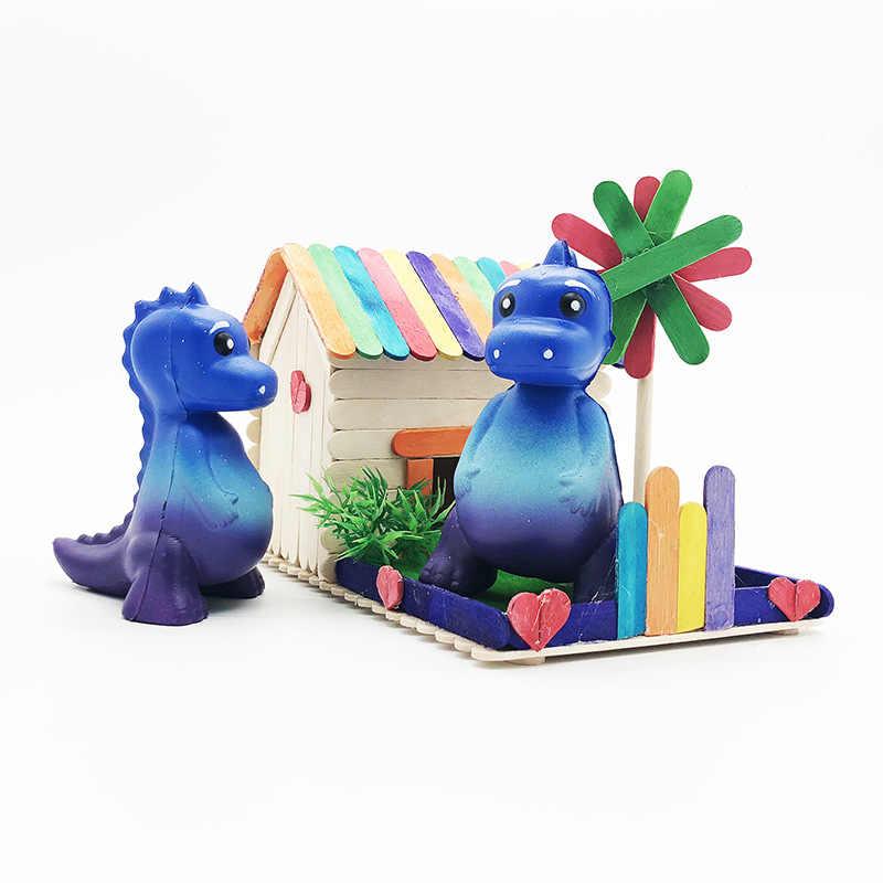 Squishy Rimbalzo Lento Antistress di Sfiato di Decompressione Star Dinosauro Squishies di Puzzle Classe Chancellory Giocattoli per Bambini Ornamenti