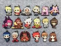 Fate Grand Order Anime Saber Jeanne Gilgamesh Tamamo No Mae Fate Extra Rubber Resin Kawaii Keychain