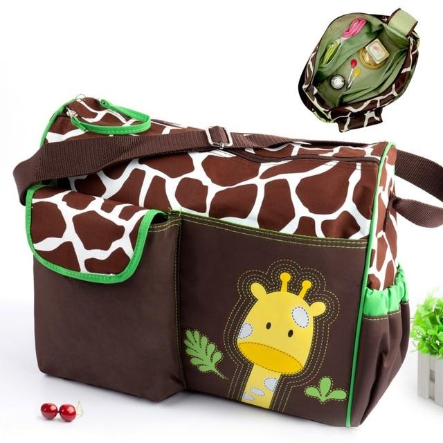 2017 Summer Style Animal Baby Diaper Bag Mummy Ny Zebra Or Giraffe Babyboom Multifunctional Fashion Infane