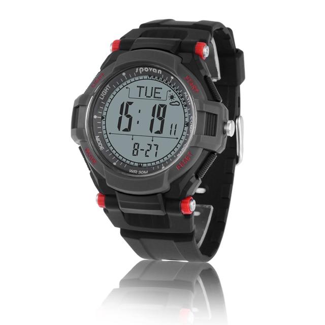 Spovan Sport Watch Mingo II Altimeter Barometer Compass Thermometer Alarm Stopwatch