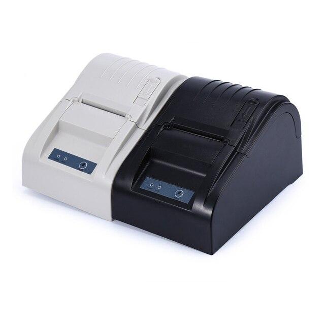 5890 Т 58 мм Термопринтер 58 мм Тепловая Чековый Принтер 58 мм USB POS Принтер для Ресторана и Супермаркета