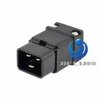 6a 250vac C20 разъем iec 320 Мощность кабель C20 rewireable 3 контакты, 50 шт.