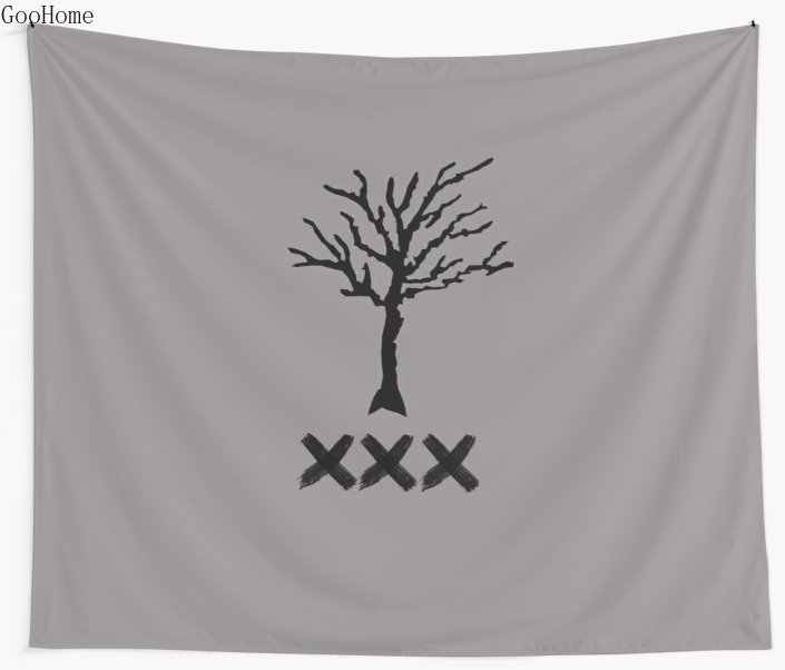 XXXTENTACION Tribute Wall Tapestry Cover Beach Towel Throw Blanket Picnic Yoga Mat Home Decoration