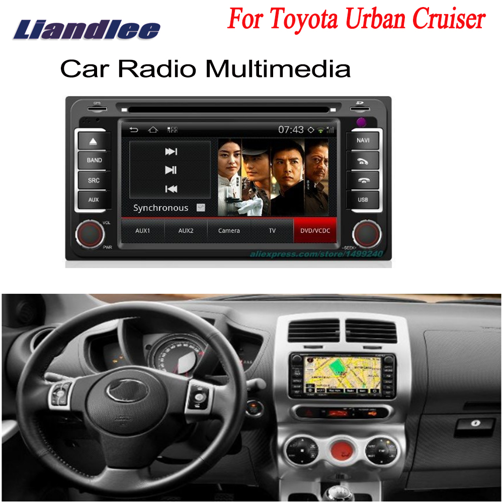 Liandlee For Toyota Urban Cruiser 2006~2013 - Car Android GPS Navigation Radio TV DVD Player Audio Video Stereo Multimedia