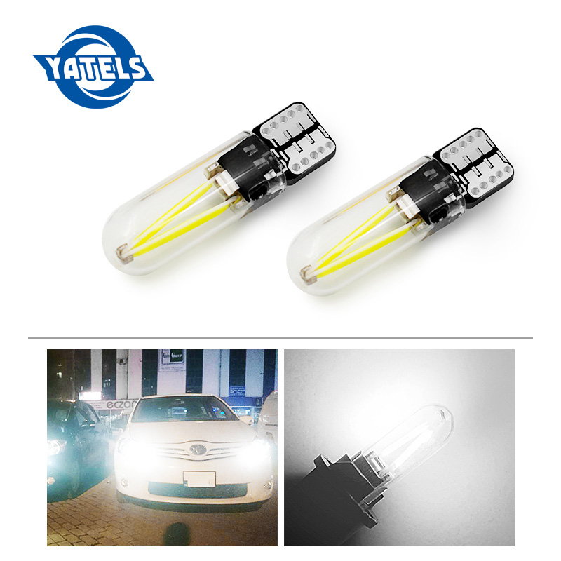 2x Car led 2018 newest W5W led T10 cob glass car light Led filament auto automobiles reading dome bulb lamp DRL car styling 12v beibehang modern 3d wallpaper living room bedroom tv background wall shop wall decoration wallpaper papel de parede wall paper