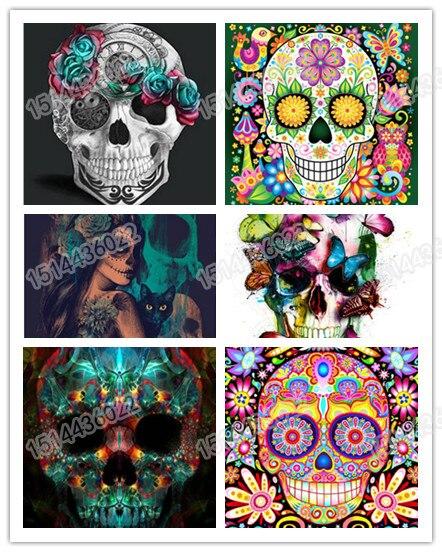 Wyprzedaż painting sugar skull Galeria - Kupuj w niskich cenach painting  sugar skull Zestawy na Aliexpress.com 8f41d5a3e20b