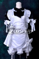 Black & White Maid Dress Cosplay Costume E001