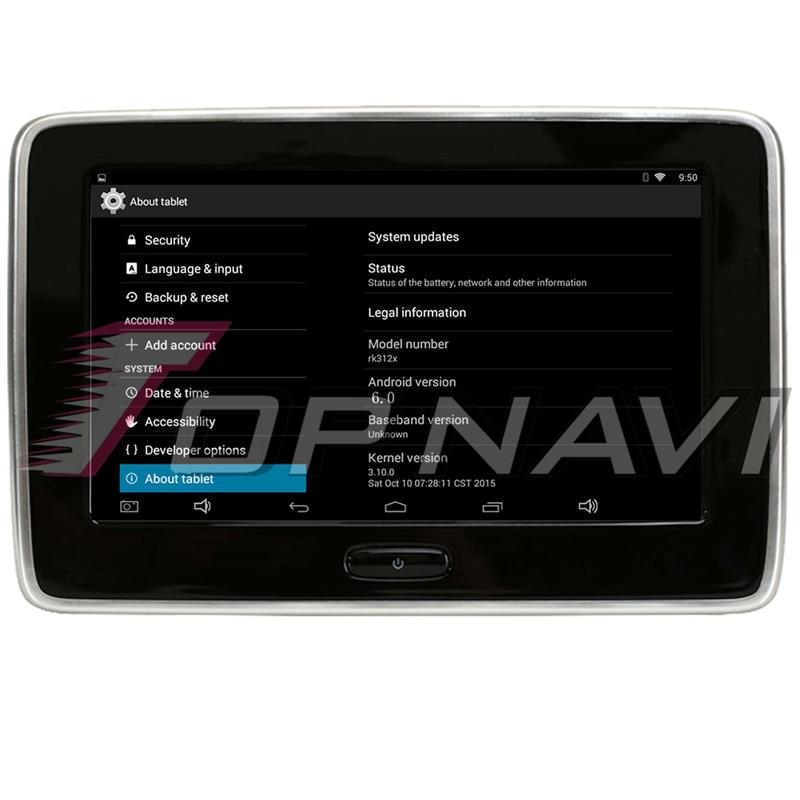 10 Inch Car Headrest HD Screen Monitor